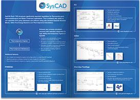MM012 SysCAD Thermo Integration Flyer